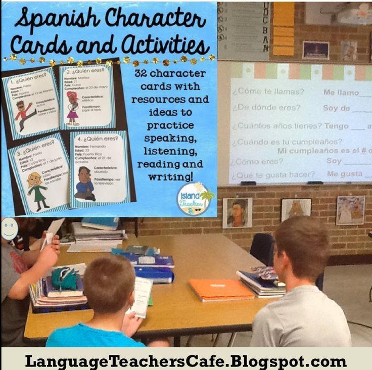 120 best World Language Teachers Cafe images on Pinterest ...