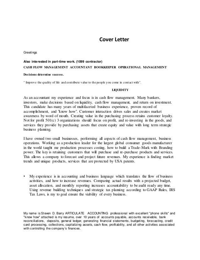 cover letter reference - Template