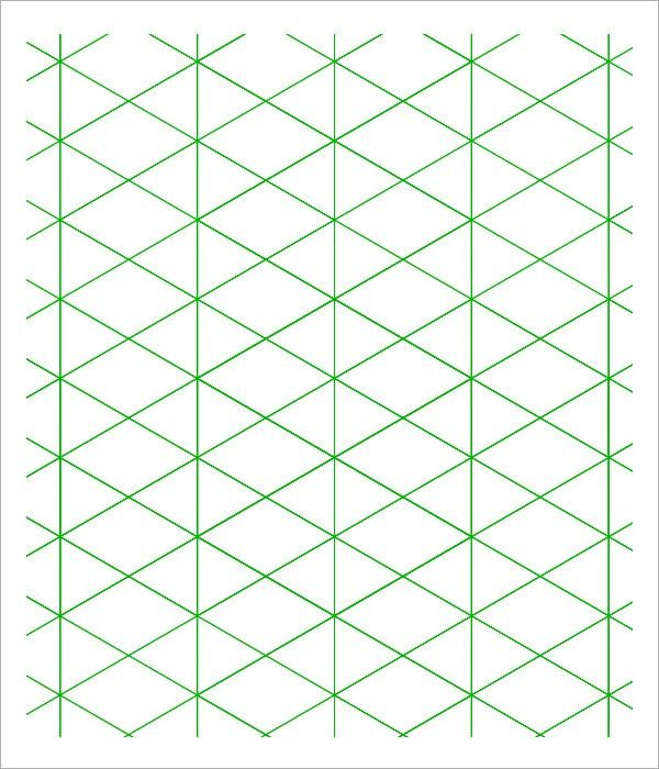 Sample 3D Graph Paper Template - 8+ Free Documents in PDF