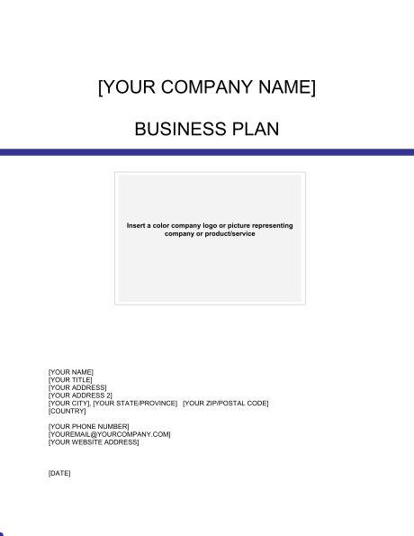 Business Plan - Template & Sample Form | Biztree.com