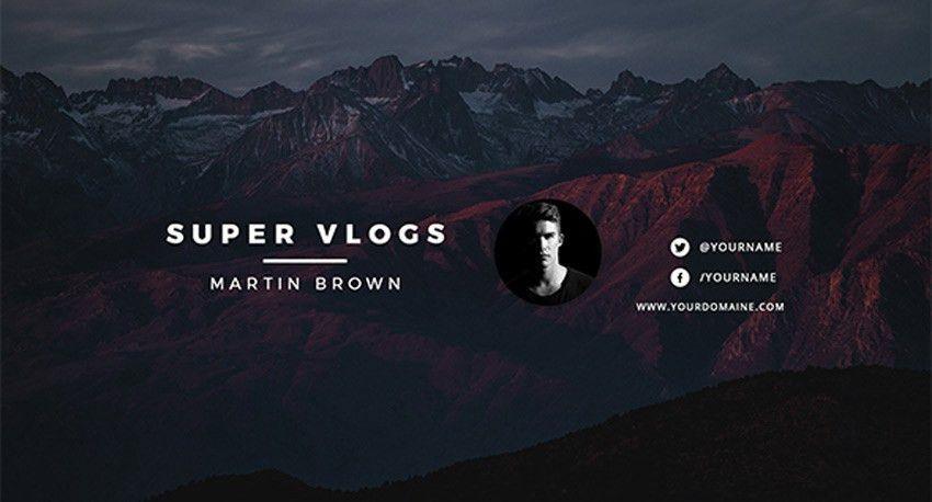 41 Creative YouTube Banner Templates-IT大道