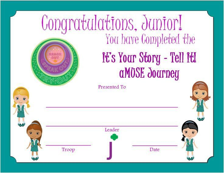 256 best Girl Scout Printables images on Pinterest | Brownie girl ...
