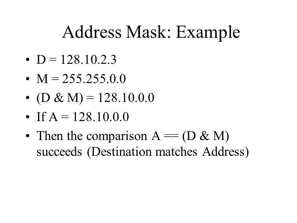 Chapter 18 IP: Internet Protocol Addresses - ppt download