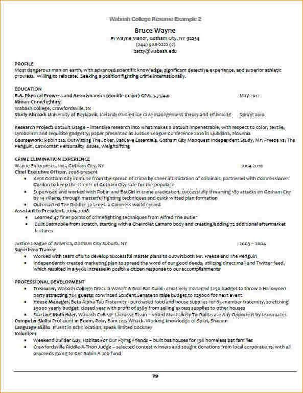 Academic resume example - Business Proposal Templated - Business ...