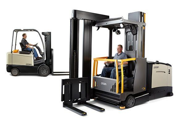 Forklift and Order Picker License Training   Crown Equipment ...