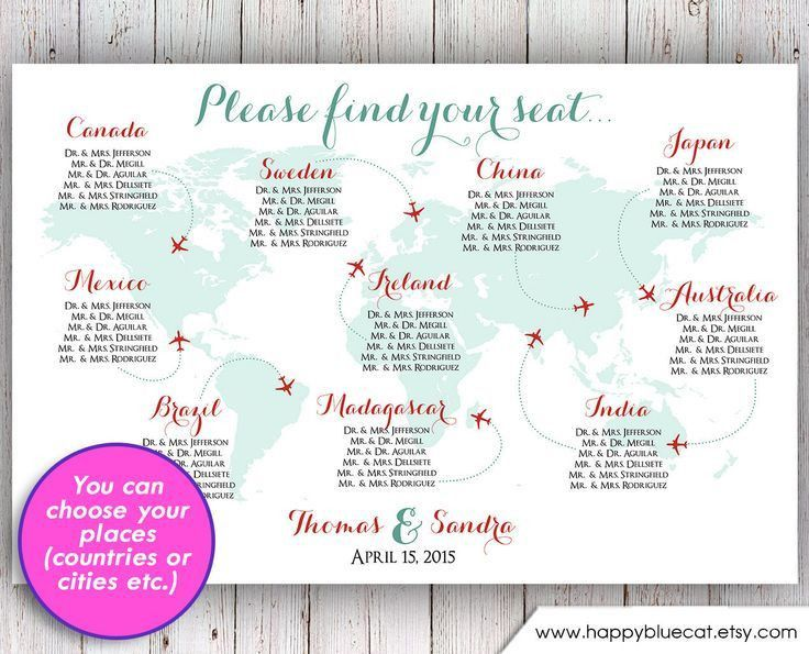 65 best Wedding - Table plan ideas images on Pinterest | Marriage ...