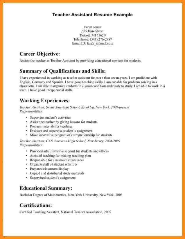 Teacher Resume Objective. Music Resume Format Music Education ...