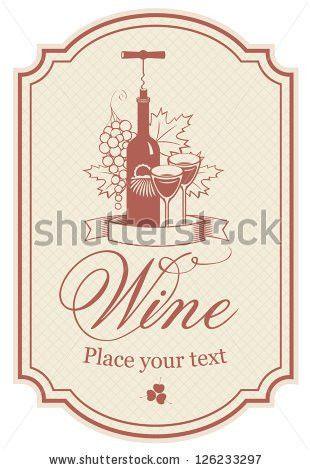 Vector wine bottle label free vector download (9,163 Free vector ...