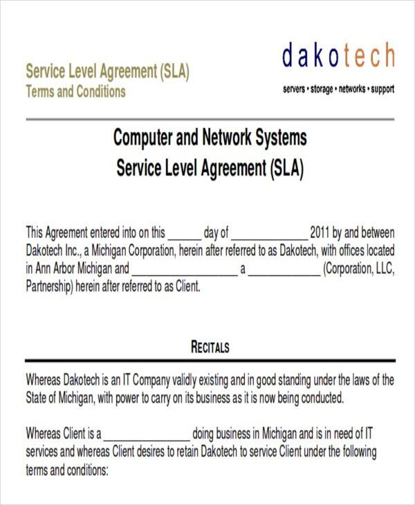 Service Contract Sample in PDF - 10+ Examples in PDF