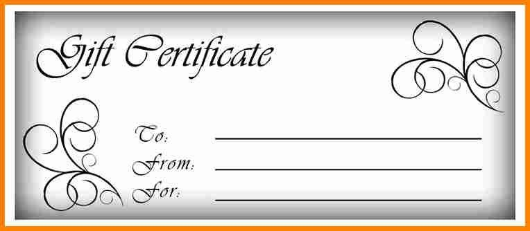 7+ free gift certificate template word | budget template