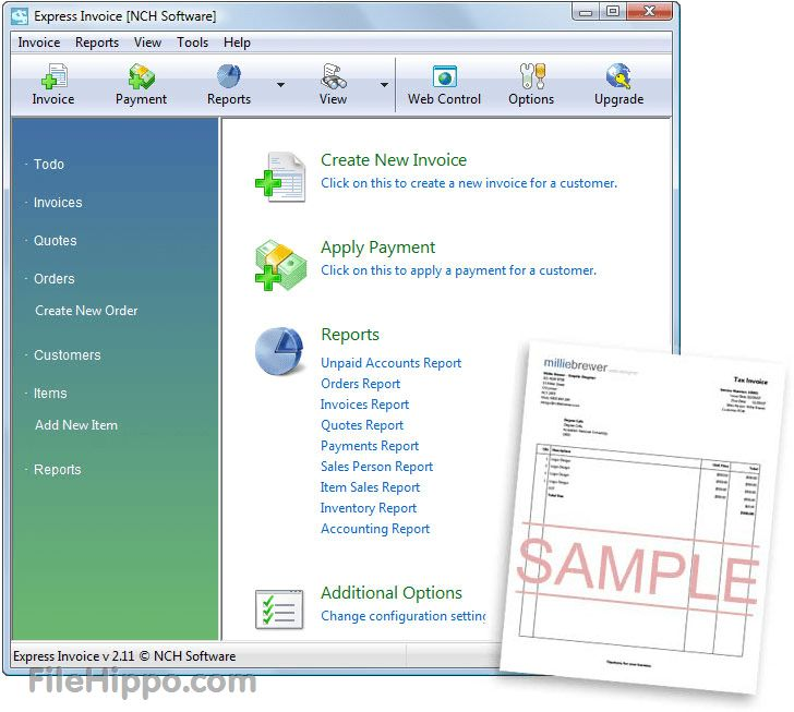 Download Express Invoice 4.65 - FileHippo.com