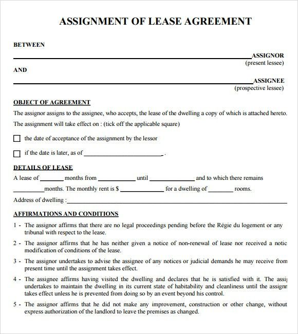 Sample Lease Agreements - 8+ Documents In PDF, Word