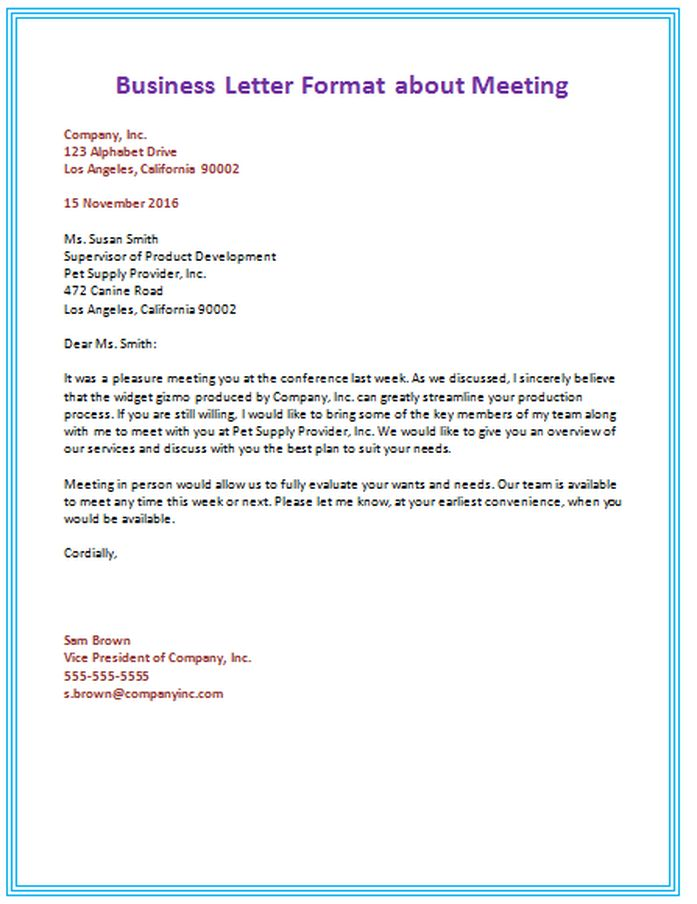 BUSINESS LETTER FORMAT - English 9 @ DVD