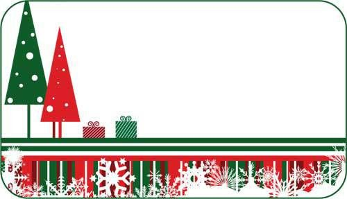 Christmas Gift Label Templates – Happy Holidays!