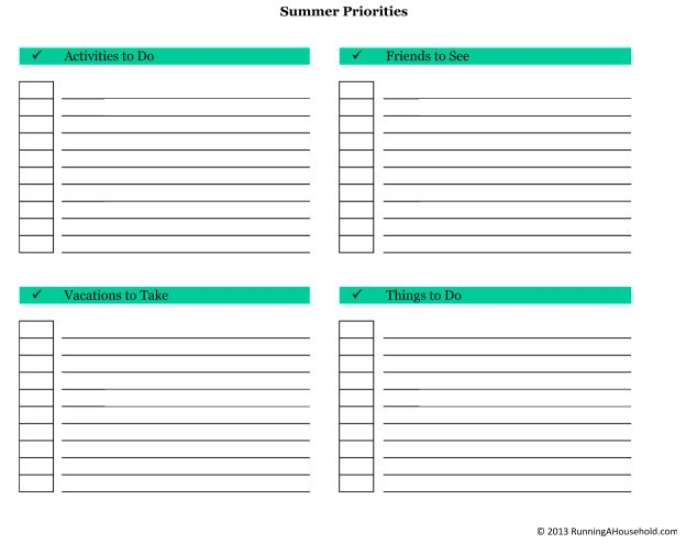 Sample Chart Templates » Priority Chart Template - Free Charts ...