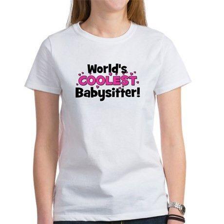 Cute Babysitter T Shirts, Shirts & Tees | Custom Cute Babysitter ...