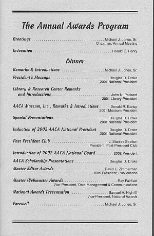4 Best Images of Awards Banquet Program Template - Sports Awards ...
