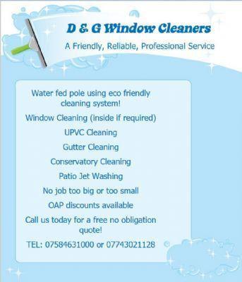 D & G Window Cleaners - Window Cleaner in Rhyl (UK)