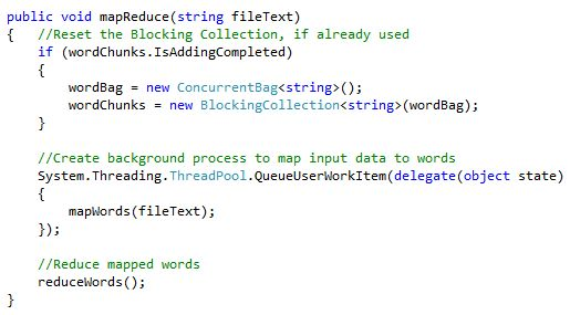MapReduce / Map Reduction Strategies Using C# - CodeProject