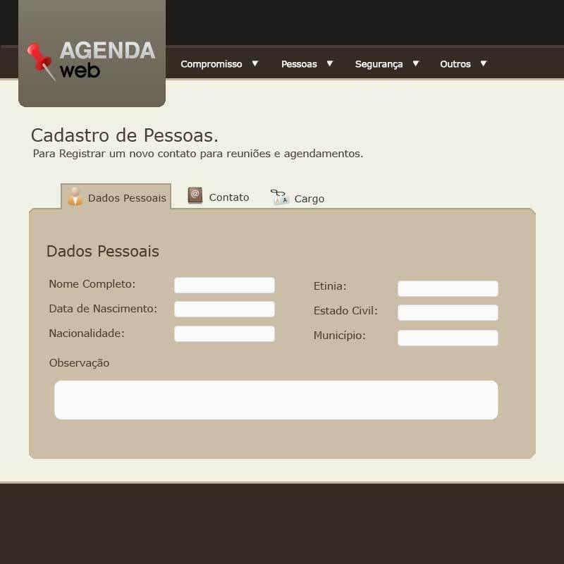 Agenda Web Layout by HMFPDM on DeviantArt