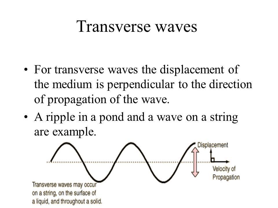 Types of Mechanical waves - ppt download