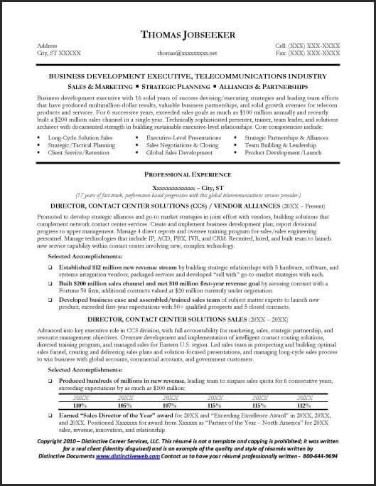 telecommunications resume resume example telecommunications