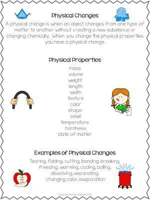Best 25+ Physical change ideas on Pinterest | Physical science ...