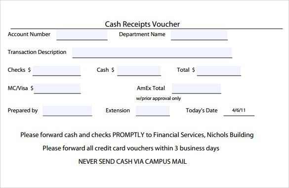 Cash Receipt Template Uk. download a free for word or excel. pics ...