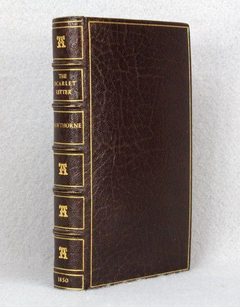 Pirages | Hawthorne. The Scarlet Letter. 1850