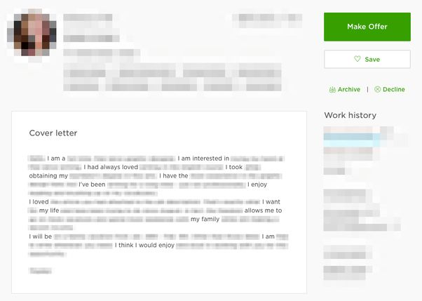 How to write a killer proposal on Upwork as a newbie - Quora