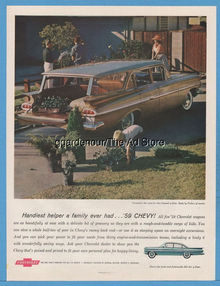 195 best Vintage Chevrolet Advertising images on Pinterest ...