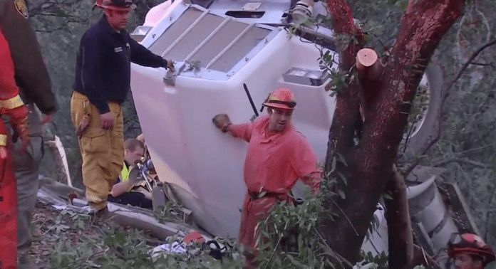 Water tender truck driver killed responding to fire in Napa Valley ...