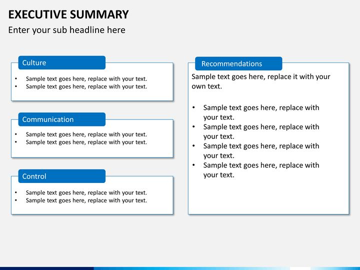 executive summary powerpoint template executive summary powerpoint ...