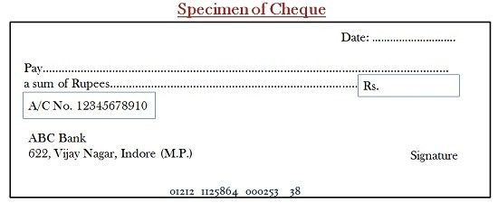 Difference Between Cheque and Bill of Exchange (with Similarities ...