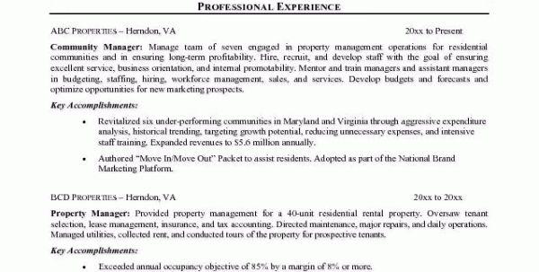 hospitality management resume sample ...