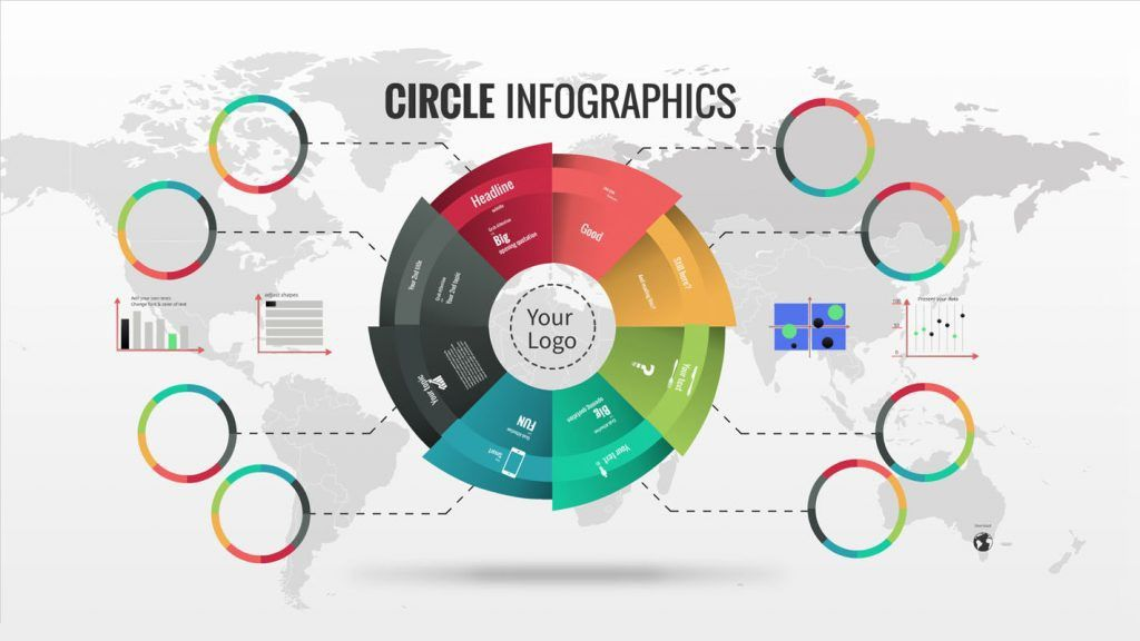 Infographics Prezi template | ShareTemplates