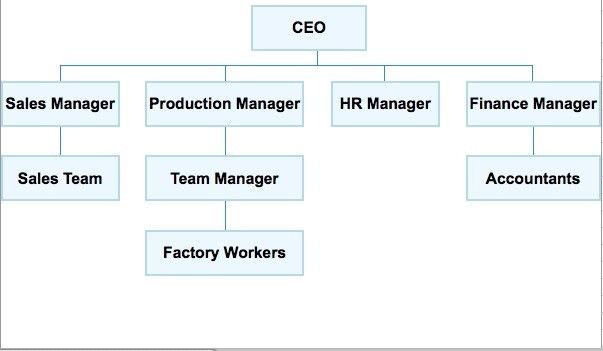10 Best Images of Simple Business Organizational Charts - Retail ...