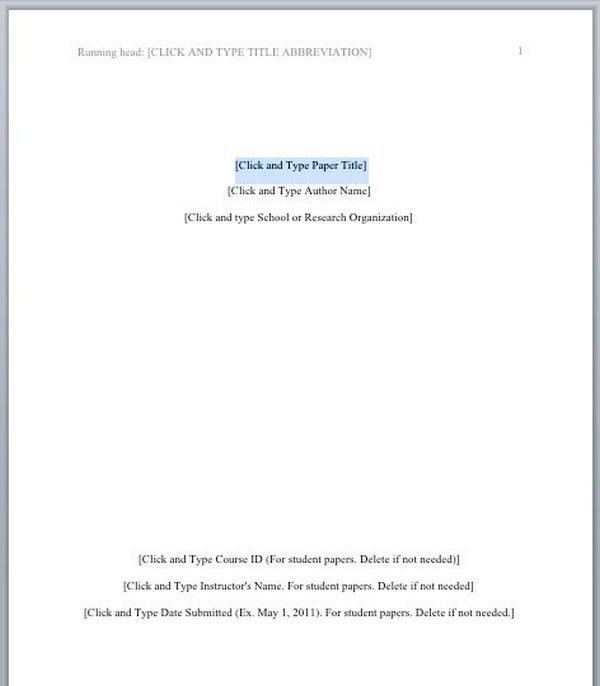 Apa format template for research paper - Convincing Reviews with ...
