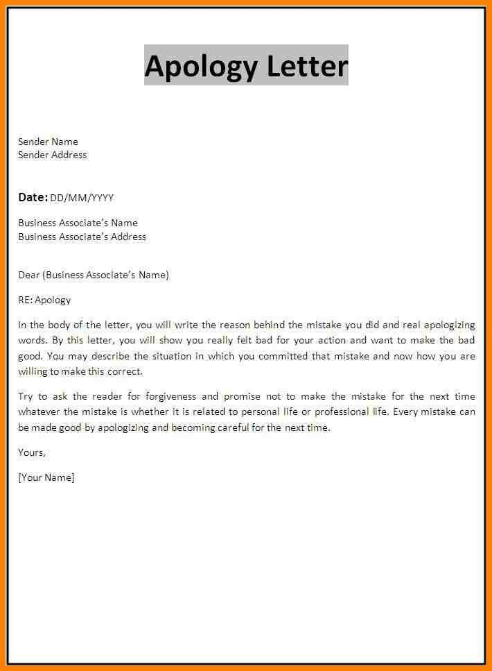 9+ how to write a apology letter | resume language