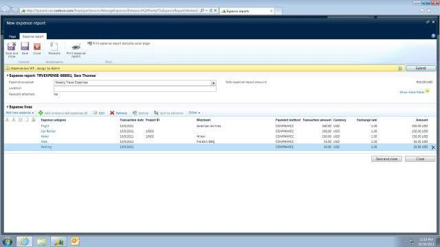 New and Improved Expense Reporting Functionality in Microsoft ...