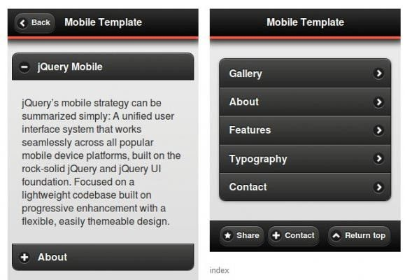 Emil Maran Official Page :: Free Templates for your Mobile App