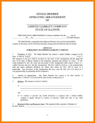 10+ llc operating agreement sample | mechanic receipt