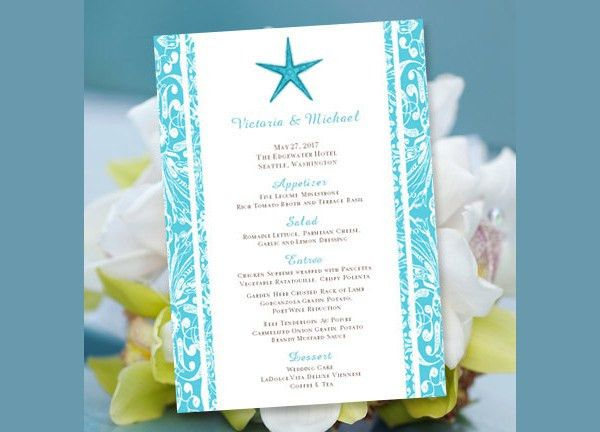 33 Party Menu Templates