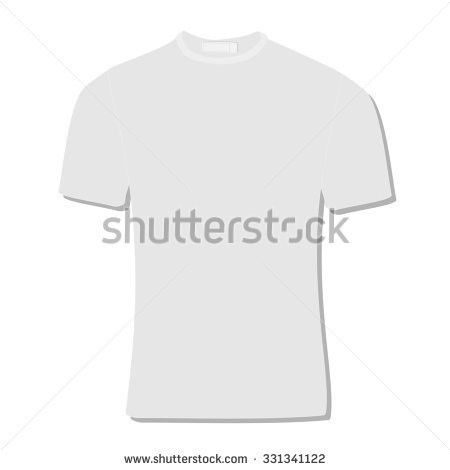 Vector Mens Tshirt Design Template Front Stock Vector 145147951 ...