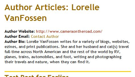Using Author Template Tags Outside of the WordPress Loop « Lorelle ...