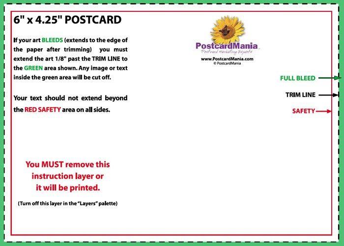 postcard mailer templates