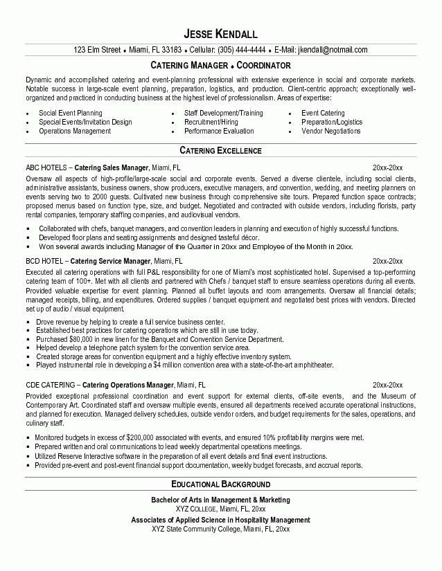 how to write a waitress resume free server resume example server