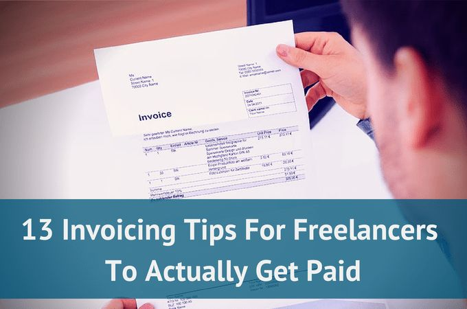 13 Invoicing Tips For Freelancers To Actually Get Paid » Paydirt ...