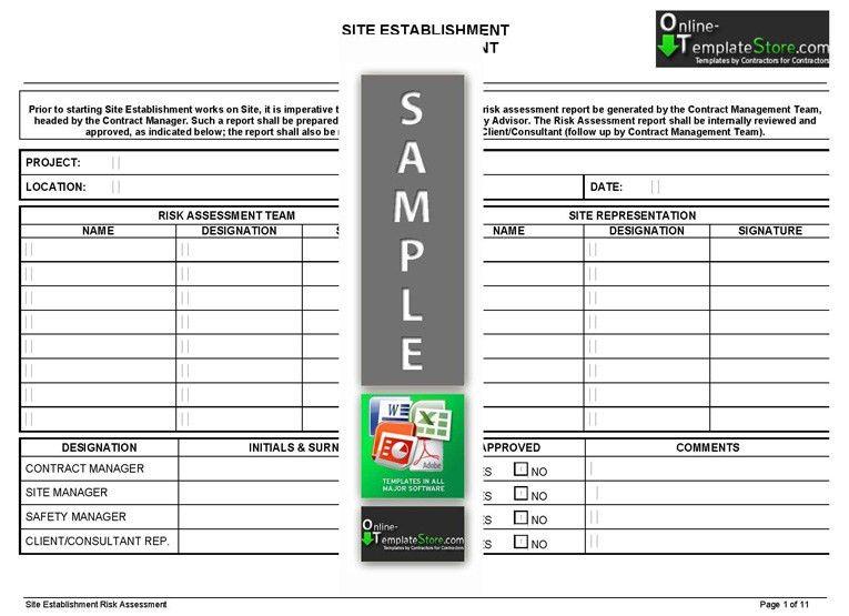 Project Management forms | Construction Templates