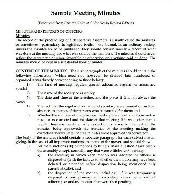 Meeting Notes Template - 9+ Download Free Documents in PDF , PSD